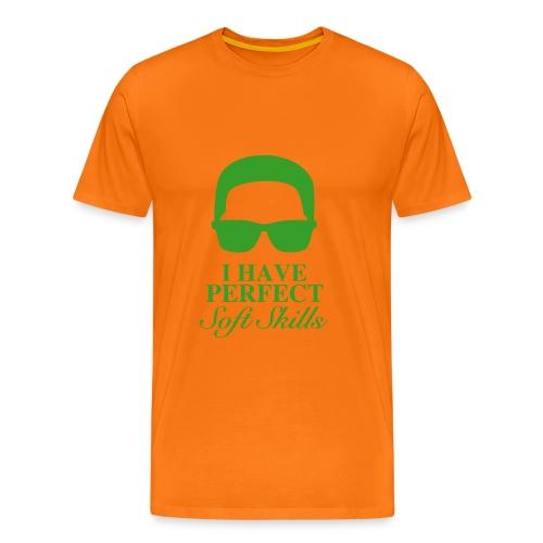 Perfect Soft Skills -Paradiesvogel - Männer Premium T-Shirt