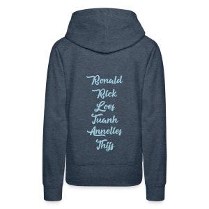 My Back - Vrouwen Premium hoodie