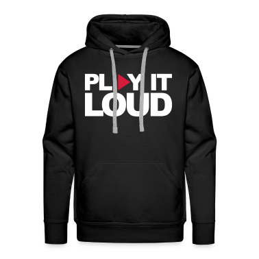 Black Play It Loud Jumpers