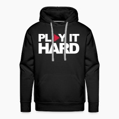 Black Play It Hard Jumpers