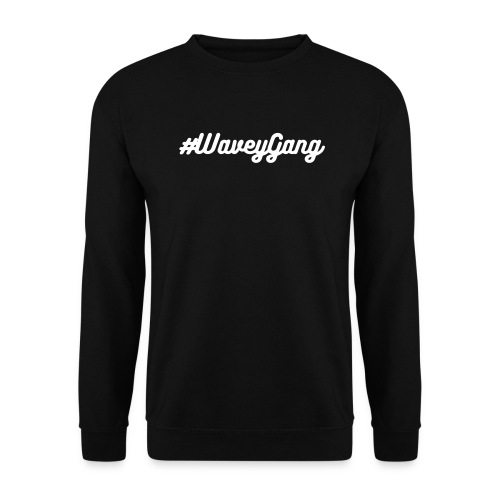#wavey gang jumper - Men's Sweatshirt