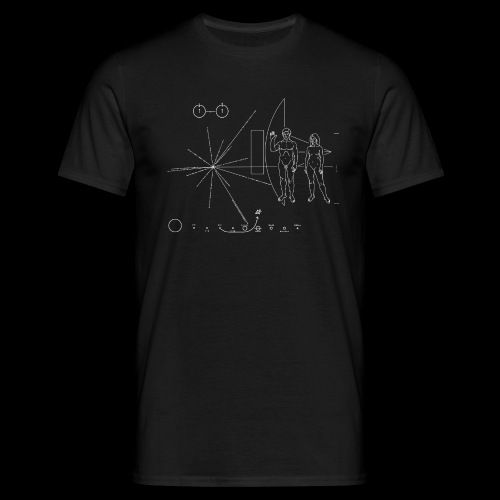 Pioneer Plaque - Men's T-Shirt