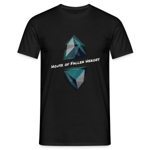 House of Fallen Heroes mit Namen - Männer T-Shirt