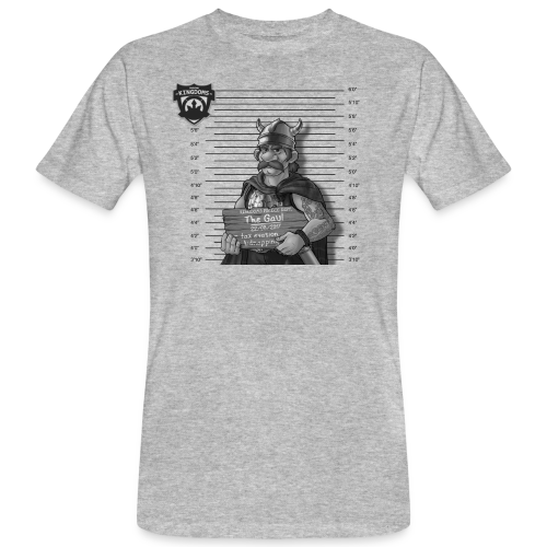 Kingdoms Mug Shots - The Gaul (M) - Männer Bio-T-Shirt
