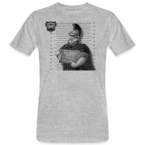 Kingdoms Mug Shots - The Roman(M) - Männer Bio-T-Shirt