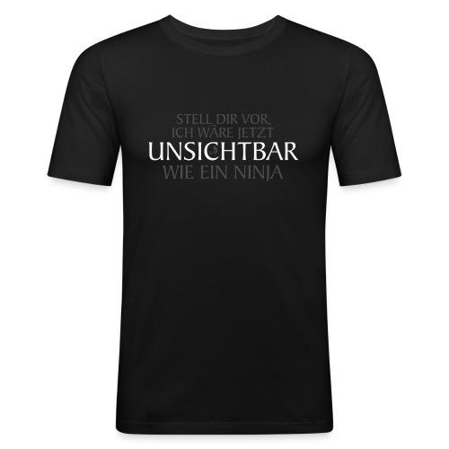 Unsichtbar machendes Slim Fit T-Shirt - Männer Slim Fit T-Shirt