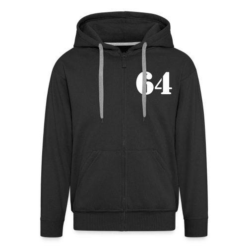 64 Männer Premium Kapuzenjacke - Men's Premium Hooded Jacket