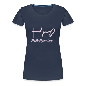 FAITH HOPE LOVE - Women's Premium T-Shirt