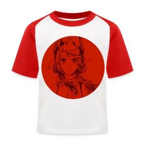 T-shirt barn Rosu - Baseboll-T-shirt barn
