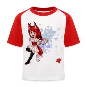 T-shirt barn chibi - Baseboll-T-shirt barn