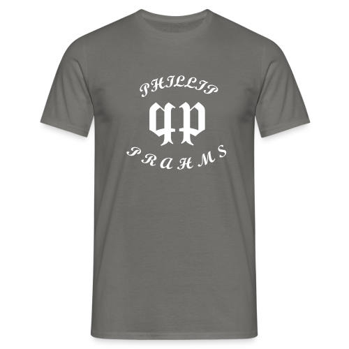 T-Shirt Grey - phillipprahms - Männer T-Shirt