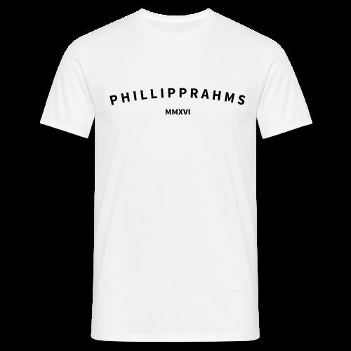 T-Shirt White - phillipprahms - Männer T-Shirt