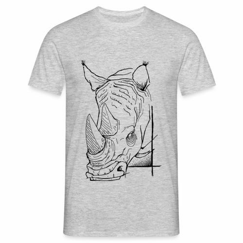 T-shirt rhino - T-shirt Homme