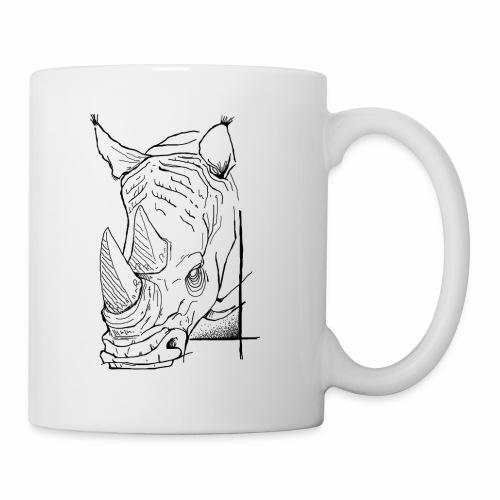 Tasse rhino - Mug blanc