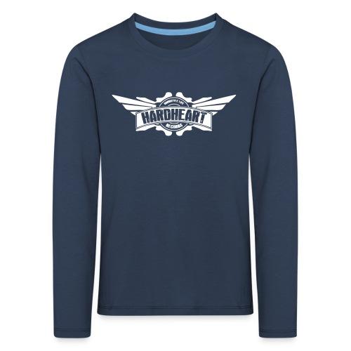 HARDHEART004 - Maglietta Premium a manica lunga per bambini