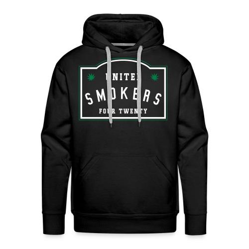 UNITED SMOKERS HOODIE  - MEN'S EDITION - Männer Premium Hoodie