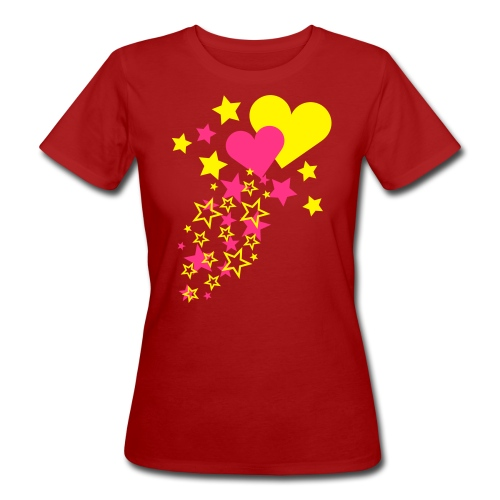 Love is in the air - Ekologisk T-shirt dam