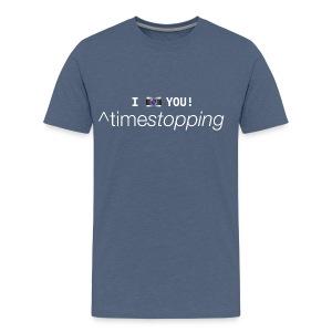 I (photo) you 001 - Men's Premium T-Shirt