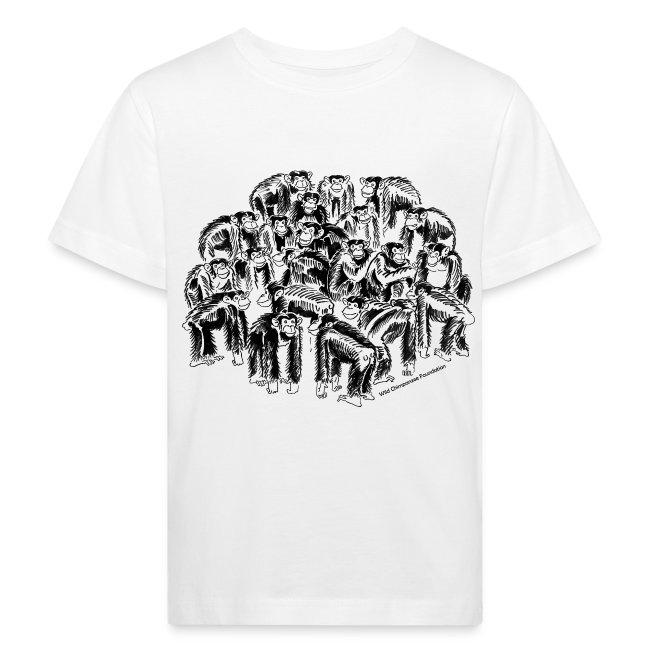 Chimpanzees Children's Bio T-Shirt