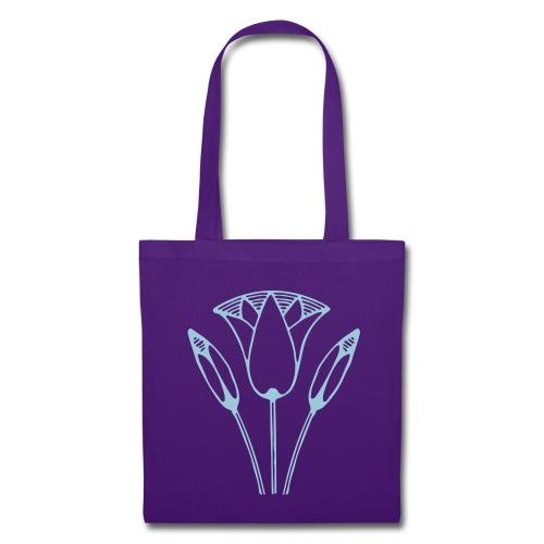 Tas Lotus met Soft Lila Print - Tote Bag