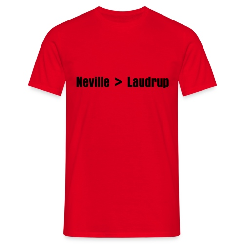 Neville > Laudrup - Herre-T-shirt
