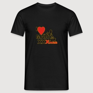 I LOVE MARYs XXXmas - Männer T-Shirt