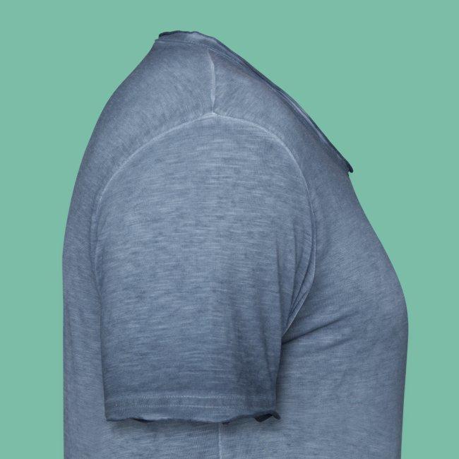 t-shirt homme bleu chiné triskell chêne