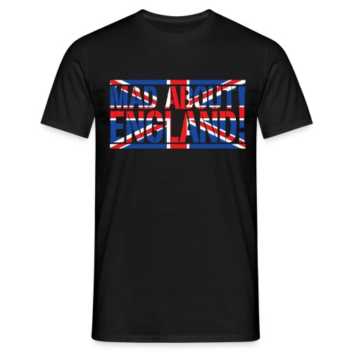 Mad About England - Men's T-Shirt