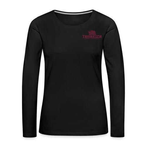 T-Shirt Manche Longues Femme - T-shirt manches longues Premium Femme