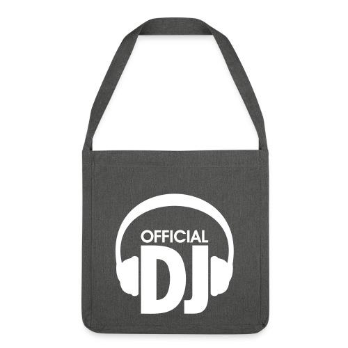 Sac Official DJ - Sac bandoulière 100 % recyclé