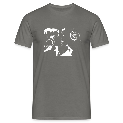 Lesbian Kiss - T-shirt Homme