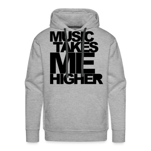 musicshirt-madebyhintze - Herre Premium hættetrøje