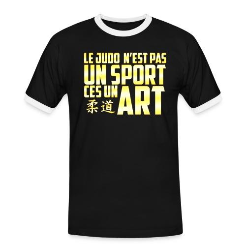 Le T-Shirt du Judoka !  - T-shirt contrasté Homme