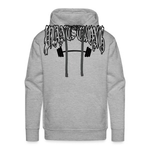 Plantstrong Apparel - Gothic Hoodie - Men's Premium Hoodie