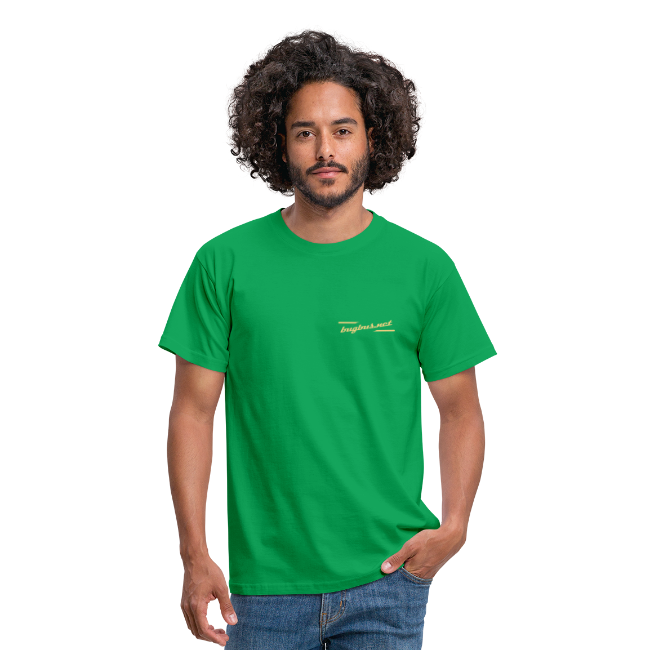 male  T'SHIRT  – FRONT & BACK PRINT