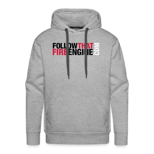 FTFE Grey Hoodie - Men's Premium Hoodie