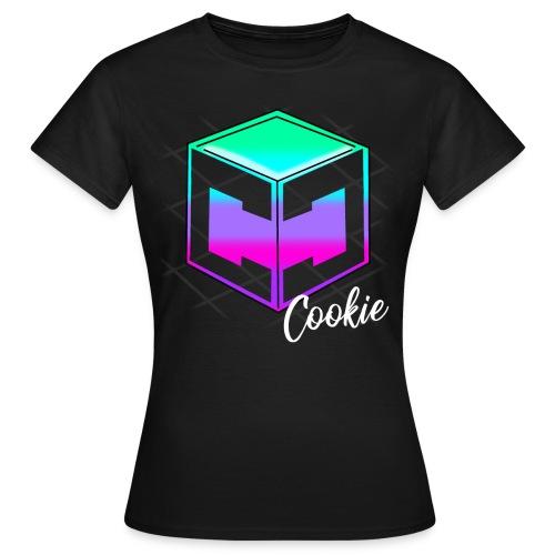 Womens Cookie Cutter - Retro Logo - Women's T-Shirt