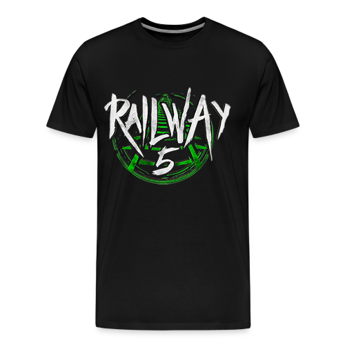 Railway 5 Fanshirt (Front) - Männer Premium T-Shirt