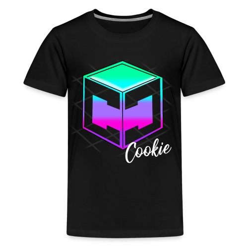 Teenage Cookie Cutter - Retro Logo - Teenage Premium T-Shirt