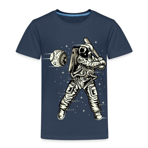 Space Baseball Astronaut - Kids' Premium T-Shirt