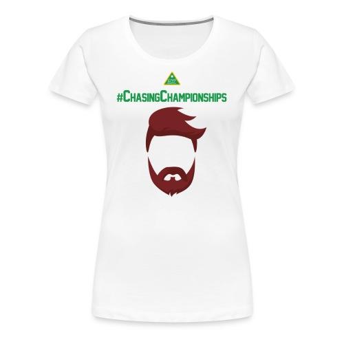 Chasing F - T-shirt Premium Femme