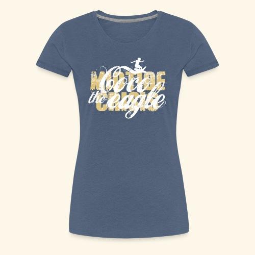 coco the eagle 1 - Frauen Premium T-Shirt