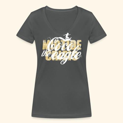 coco the eagle 1 - Frauen Bio-T-Shirt mit V-Ausschnitt von Stanley & Stella