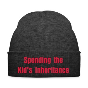 Spending the kid's inheritance winter hat - Winter Hat