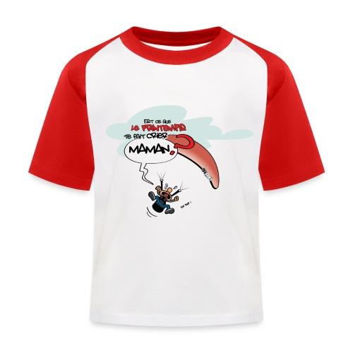Est-ce que le printemps... - T-shirt baseball Enfant