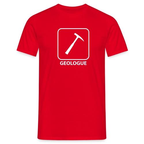 T-Shirt - Géologue - T-shirt Homme