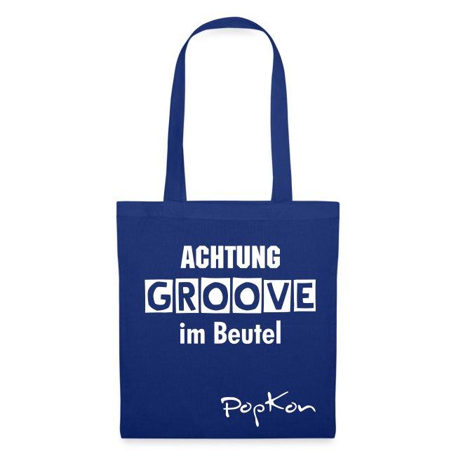 Groove-Beutel blau