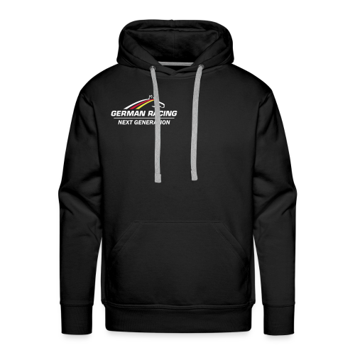 German Racing Next Gen Kapuzenpullover Black, Männer - Männer Premium Hoodie