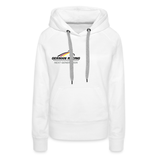 German Racing Next Gen Kapuzenpullover, Frauen - Frauen Premium Hoodie