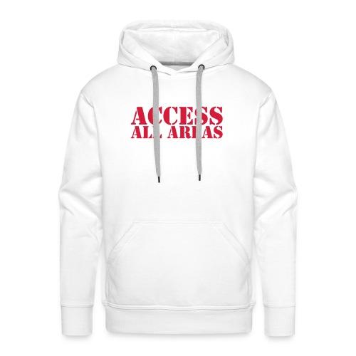 Access All Areas - Premium hettegenser for menn